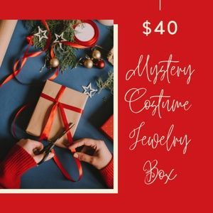 Mystery Vintage Costume Jewelry Box $80 Value Min.